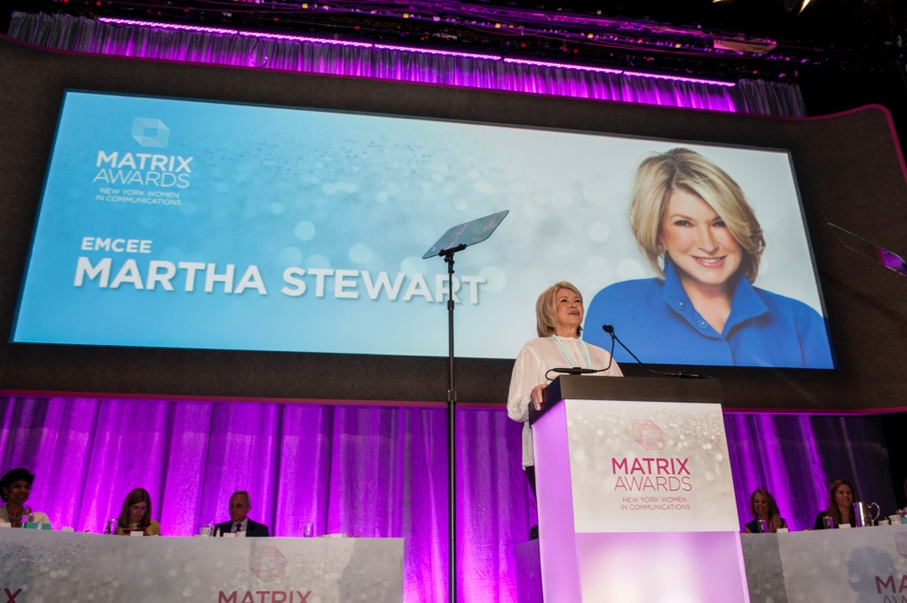 Martha Stewart MATRIX Awards 15