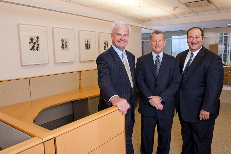 Michael Prounis, Meade Monger, Myron Eagle, Managing Directors, AlixPartners