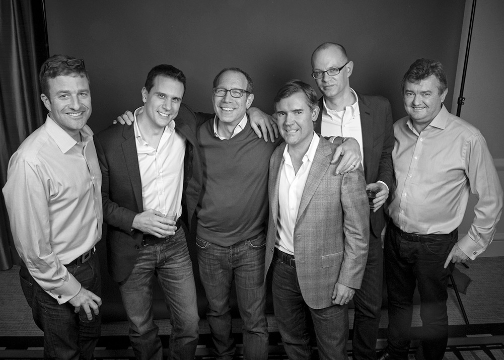 Executive Team, Peacock Productions  (l.to r.  Lloyd Fales, Keith McKay, Knute Walker, Benjamin Ringe, Jonathan Damour and Steve Anderson